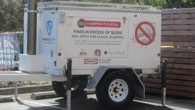 Ryde Council uses Mobile CCTV Solutions to capture illegal dumping